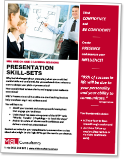 Download presentation skill-sets coaching sessions flyer
